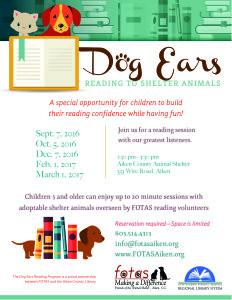 Dog Ears School Year 2016 - 2017