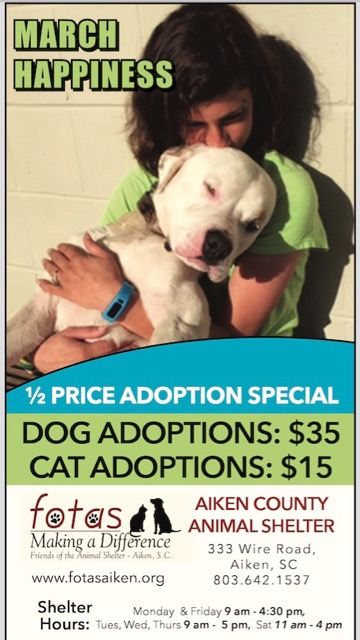 March 2017 adoption special without Trout Walk Farm