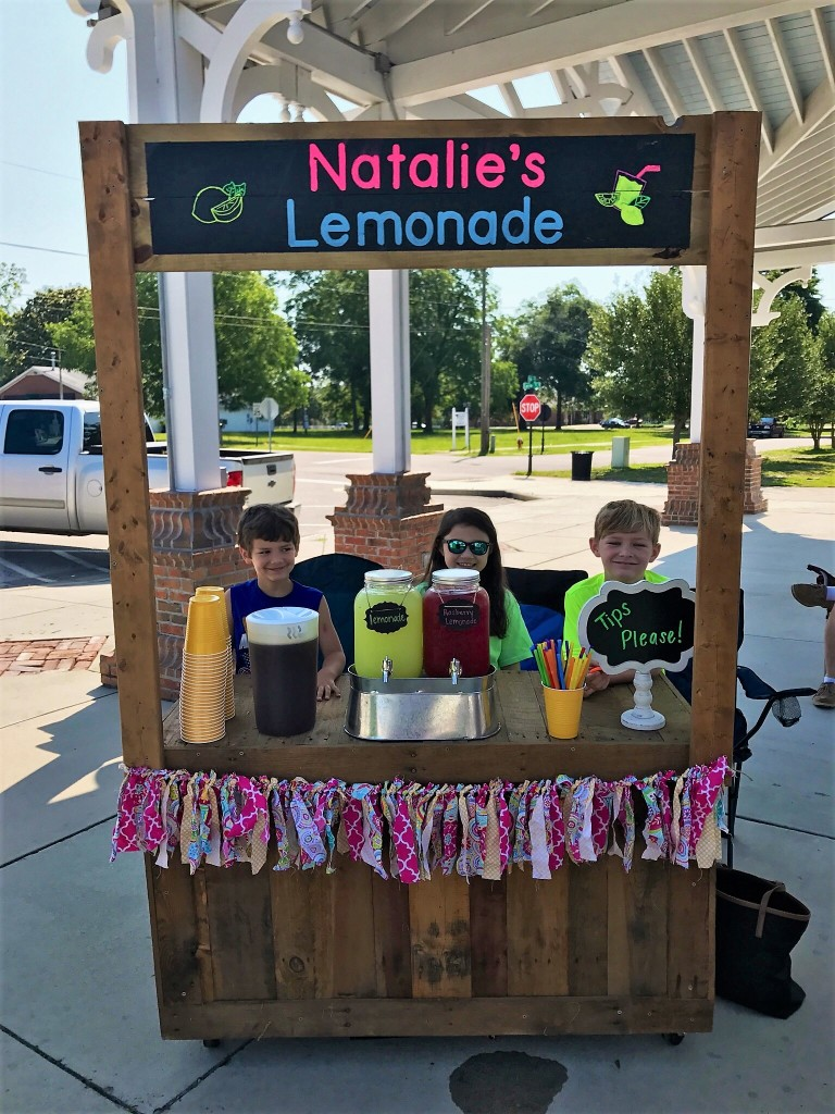 The three musketeers who raised money to buy food and other gifts for the County Shelter animals: Hayden Collum, 8; Colton Collum, 6; and Natalie Tyler, 8.