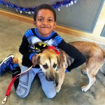 RUDOLPH THE PUPPY WAS ADOPTED BY THE DOWLING FAMILY, AIKEN