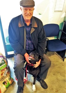 Mike and Arthur: bonded seniors learning from each other.